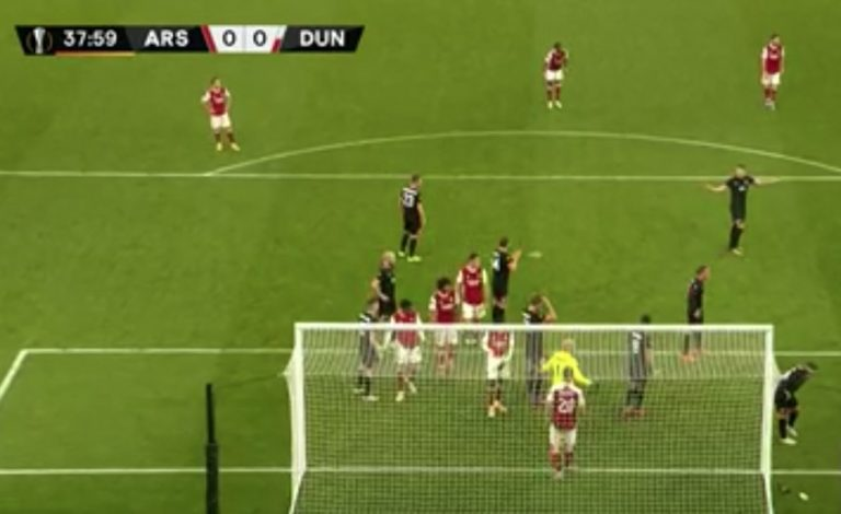 Football   Arsenal too strong for Dundalk at the Emirates
