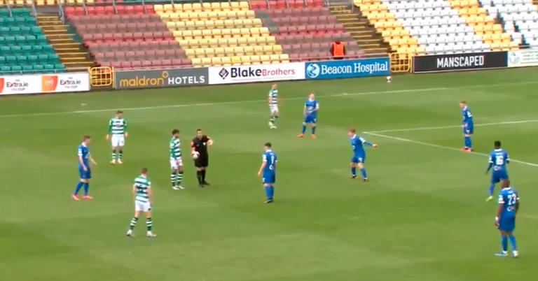 Football   Shamrock Rovers make history in Waterford win